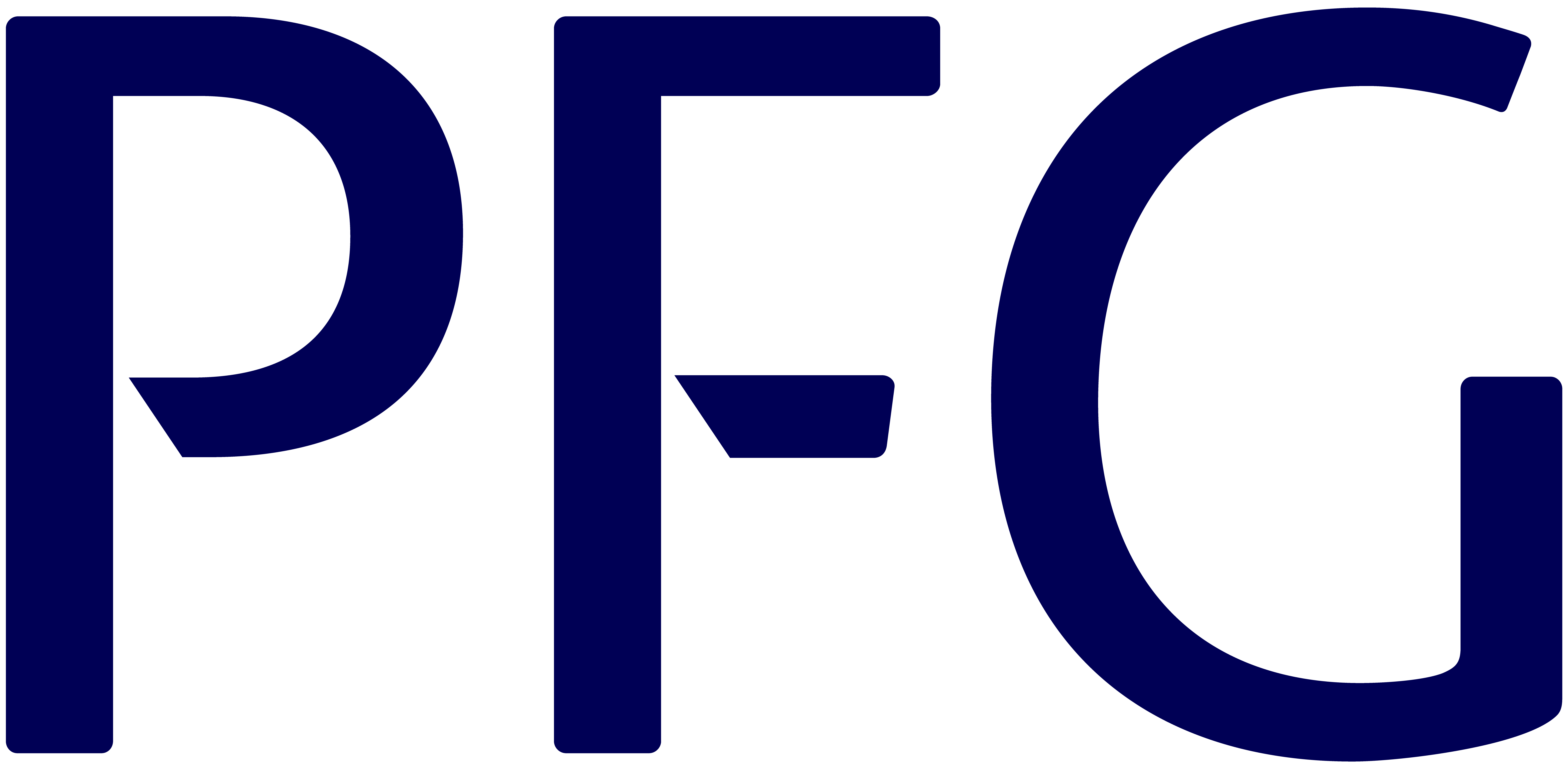 Provident logo - 'PFG' in blue text