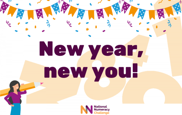 Image reading 'New year, new you!'