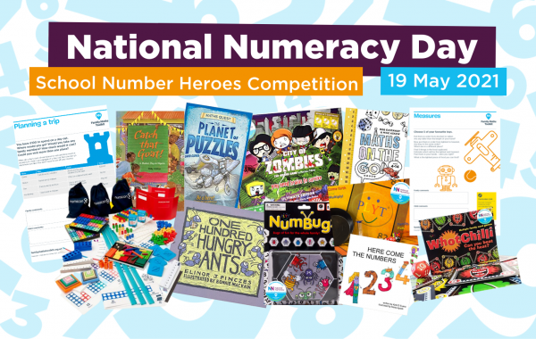National Numeracy Day School Number Heroes competition